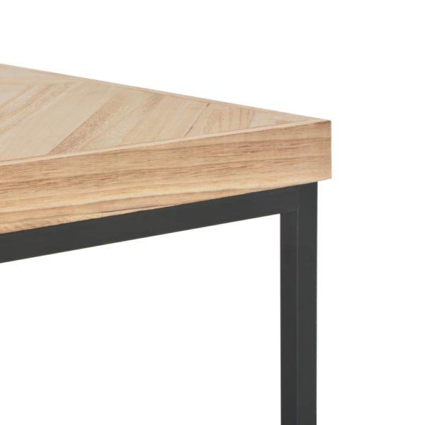 Couchtisch 110x60x37 cm Massivholz