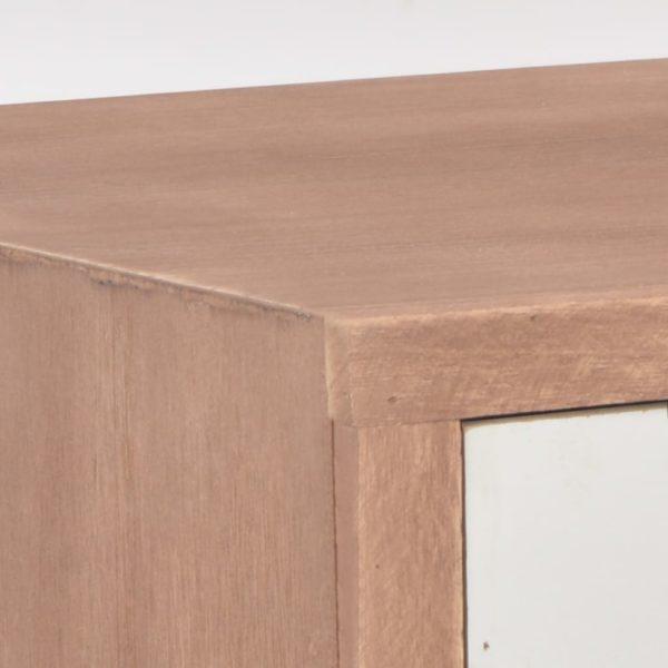 Konsolentisch mit 8 Schubladen 120x30x76 cm Massivholz Kiefer