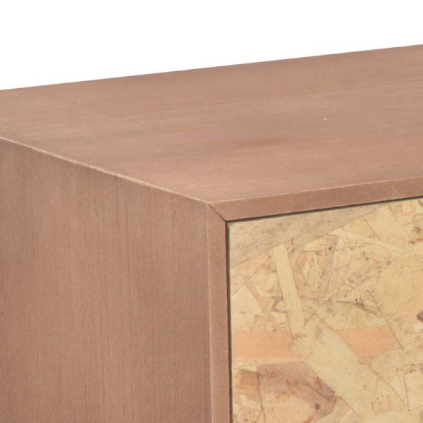 TV-Schrank mit 5 Schubladen 90 x 30 x 40 cm Massivholz Kiefer