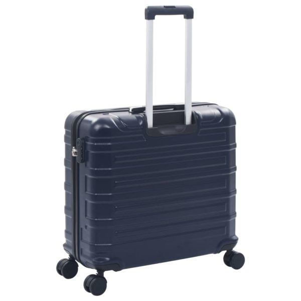 Hartschalen-Trolley-Set 2 Stk. Marineblau ABS