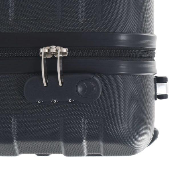 Hartschalen-Trolley Schwarz ABS