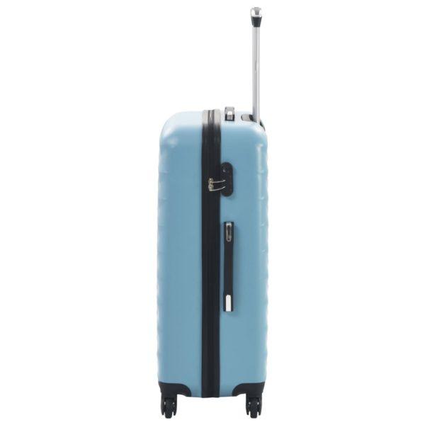 Hartschalen-Trolley-Set 3 Stk. Blau ABS