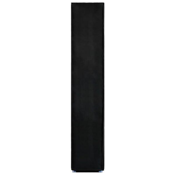 Schuhschrank Schwarz 60 x 30 x166 cm Stoff