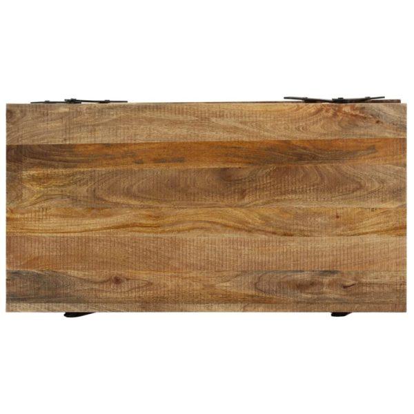 Couchtisch 115x60x40 cm Massivholz Mango