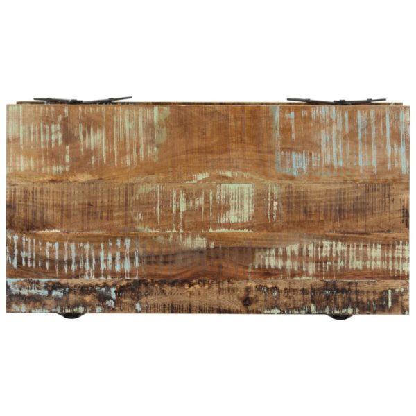 Couchtisch 115 x 60 x 40 cm Altholz Massiv
