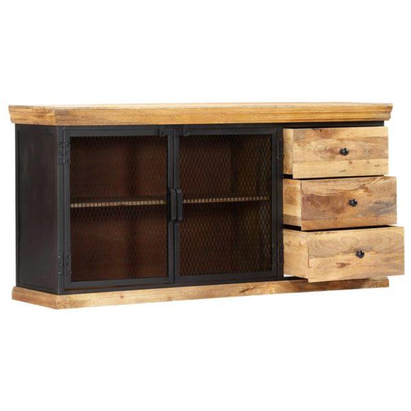 Sideboard 150 x 40 x 75 cm Massivholz Mango