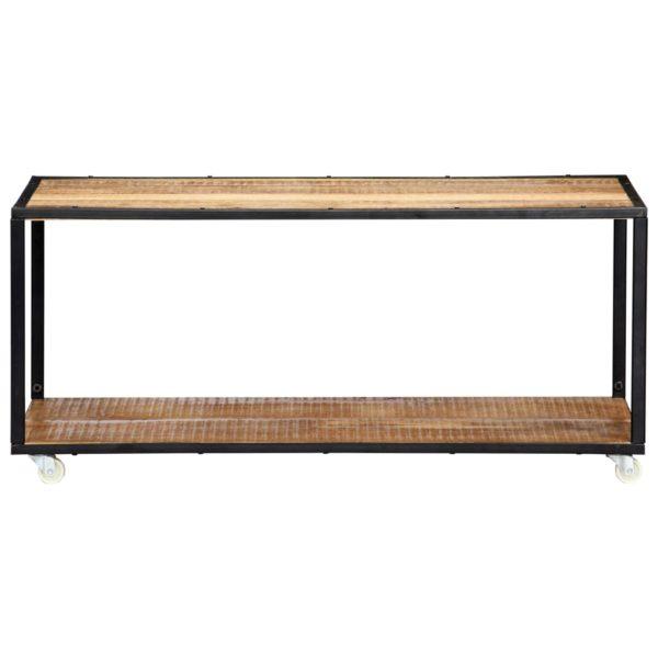 Couchtisch 90 x 50 x 40 cm Recyceltes Massivholz