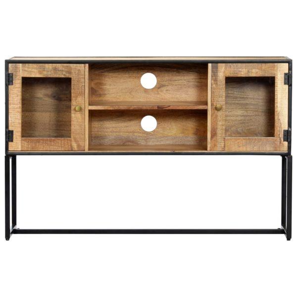 TV-Schrank 120 x 30 x 75 cm Recyceltes Massivholz