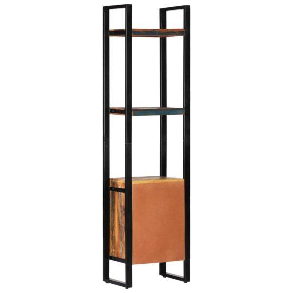 Bücherregal 45 x 30 x 171 cm Recyceltes Massivholz