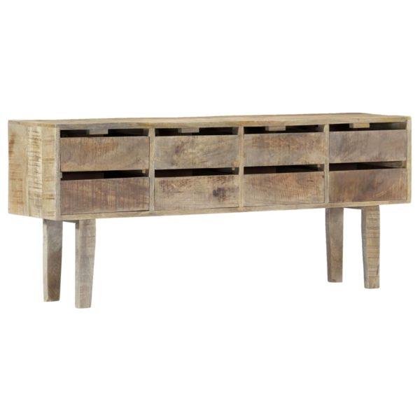 Sideboard 140×30×60 cm Massivholz Mango