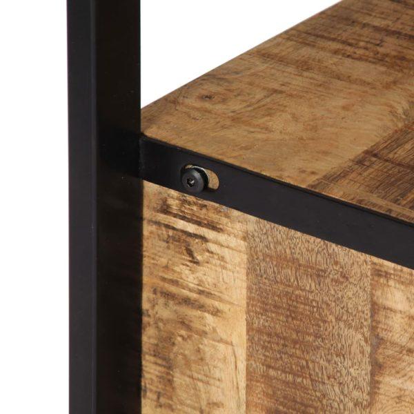 Beistellschrank 120 x 30 x 75 cm Massivholz Mango