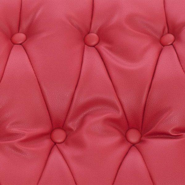 Massagesessel Rot Kunstleder