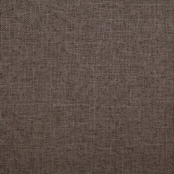 Schlafsofa Taupe Polyester