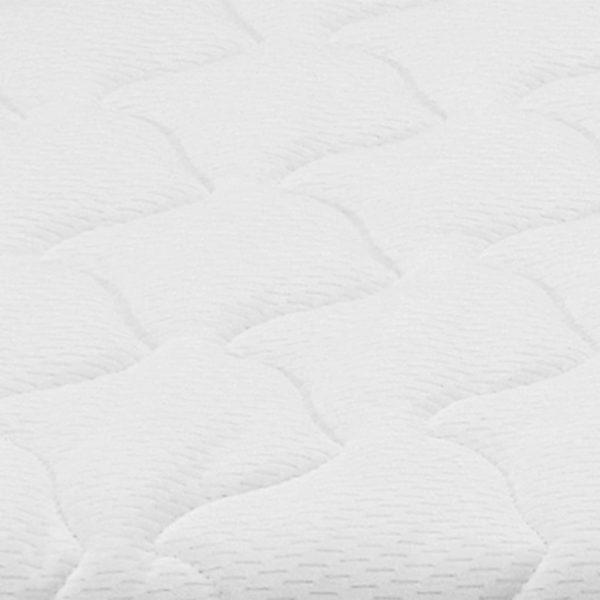 Matratzenauflage 90 x 200 cm viskoelastischer Memory-Schaum 6cm