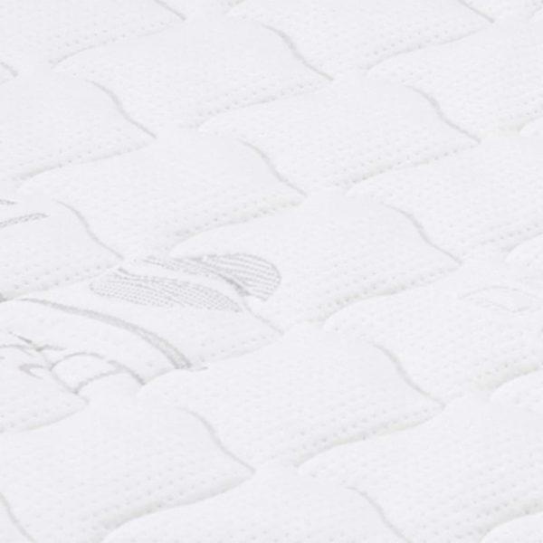 Matratzenauflage 80 x 200 cm Gelschaum 7 cm