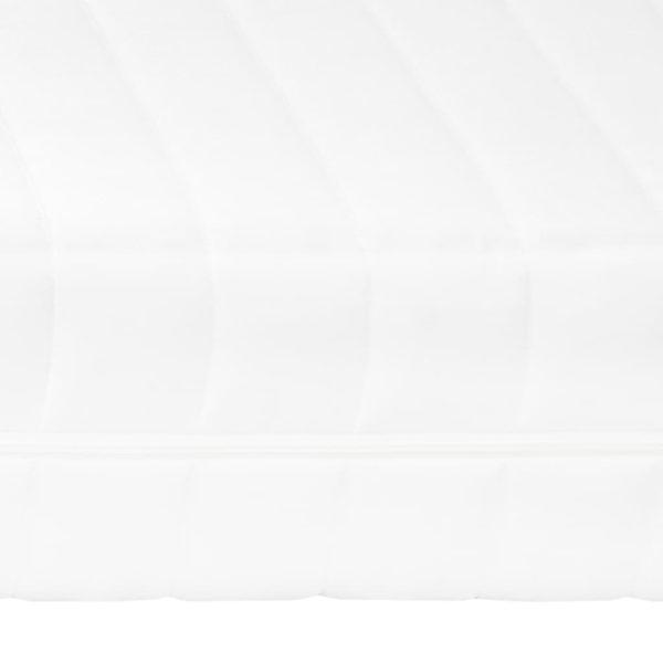 Matratze 80 x 200 cm 7 Zonen PU Schaum 16 cm H2 H3