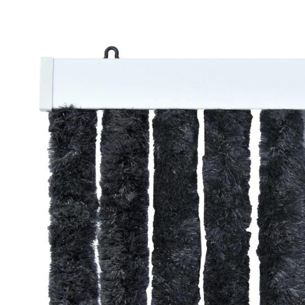 Insektenschutz-Vorhang Anthrazit 100×220 cm Chenille