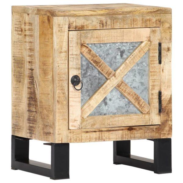 Nachttisch 40 x 30 x 50 cm Mangoholz Massiv