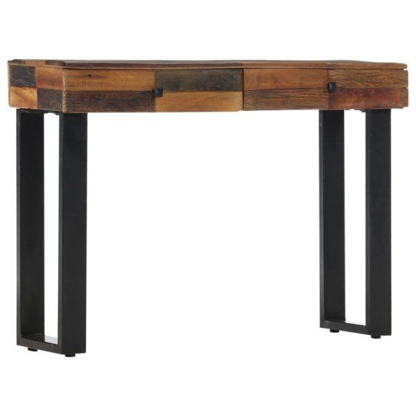 Konsolentisch 110 x 30 x 76 cm Recyceltes Massivholz