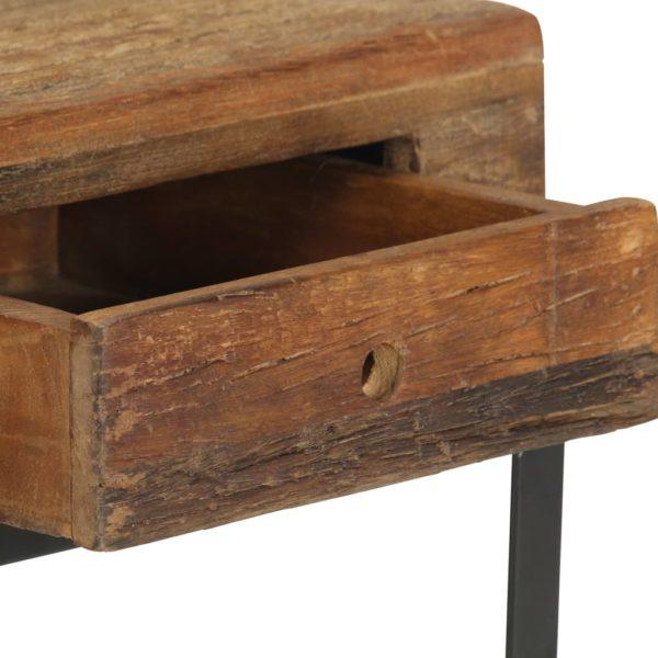 Nachttisch 40 x 35 x 40 cm Recyceltes Massivholz