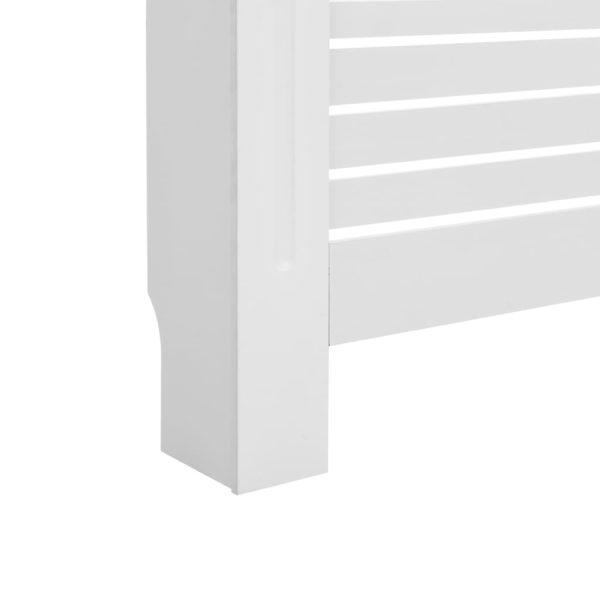 Heizkörperabdeckung Weiß 172×19×81,5 cm MDF