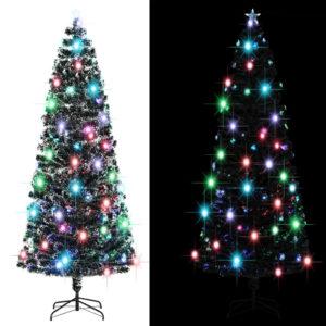 Künstlicher Weihnachtsbaum mit Ständer/LED 240 cm 380 Zweige