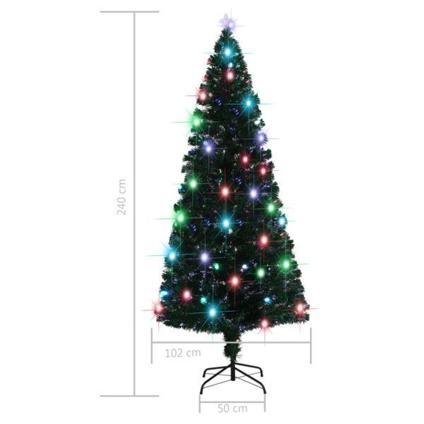 Künstlicher Weihnachtsbaum mit Ständer + LED 210 cm 280 Zweige