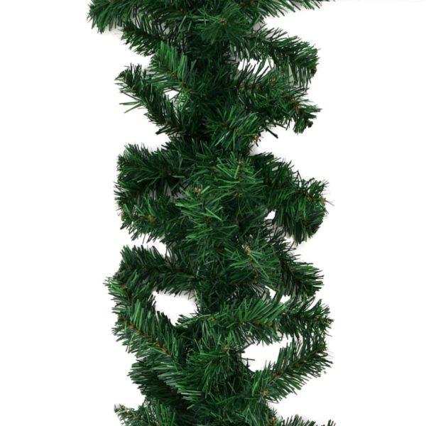 Weihnachtsgirlanden 4 Stk. Grün 270 cm PVC