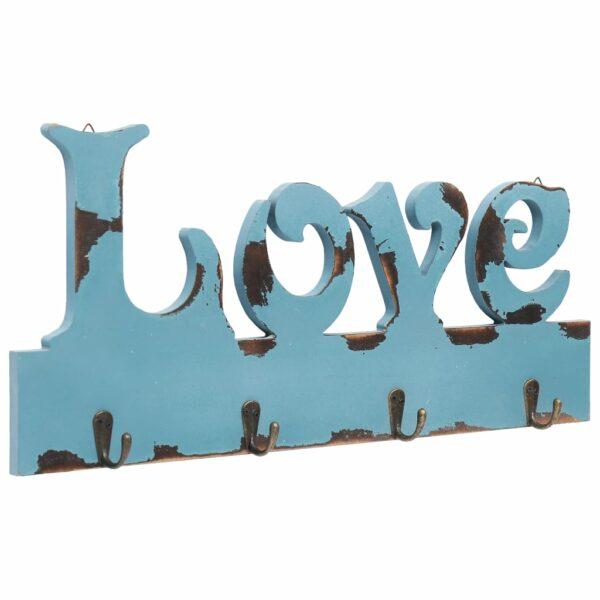 Wandgarderobe LOVE 50 x 23 cm