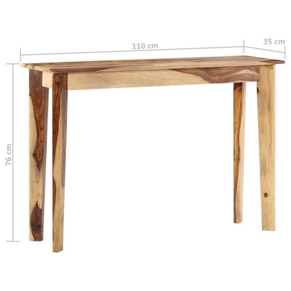 Konsolentisch 110 x 35 x 76 cm Massivholz
