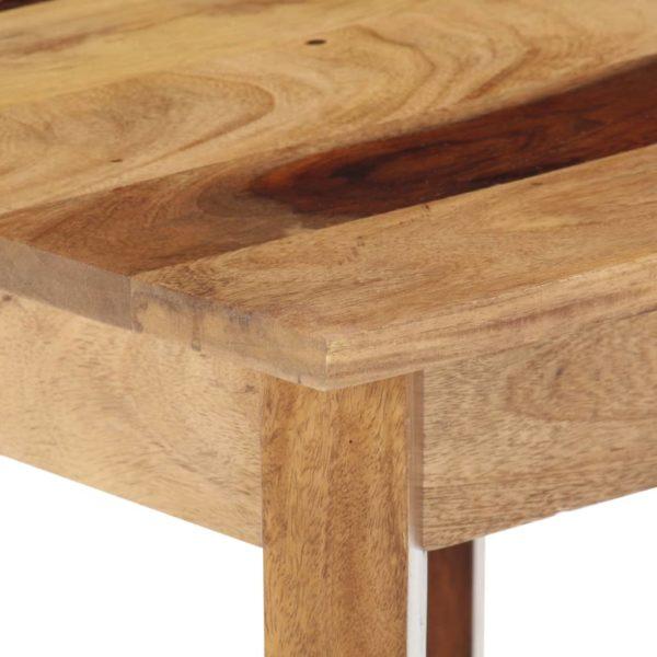 Beistelltisch 43 x 43 x 40 cm Massivholz