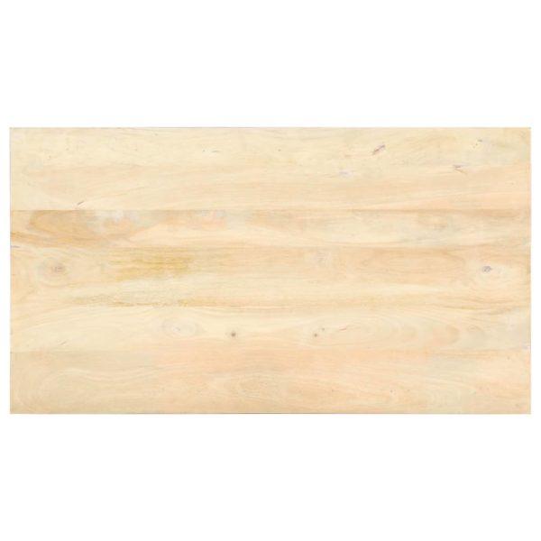 Esstisch 118×60×77 cm Massivholz Mango