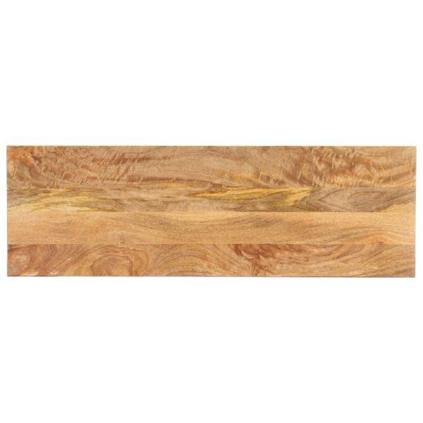 Konsolentisch 110×35×77 cm Massivholz Mango