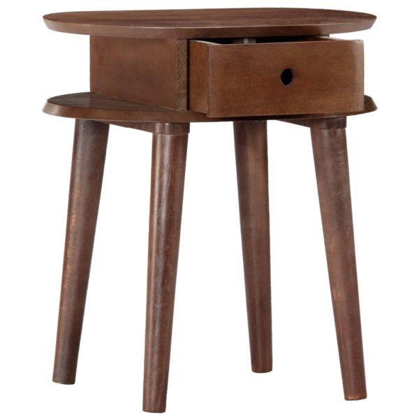 Nachttisch 50 x 35 x 55 cm Massivholz Akazie