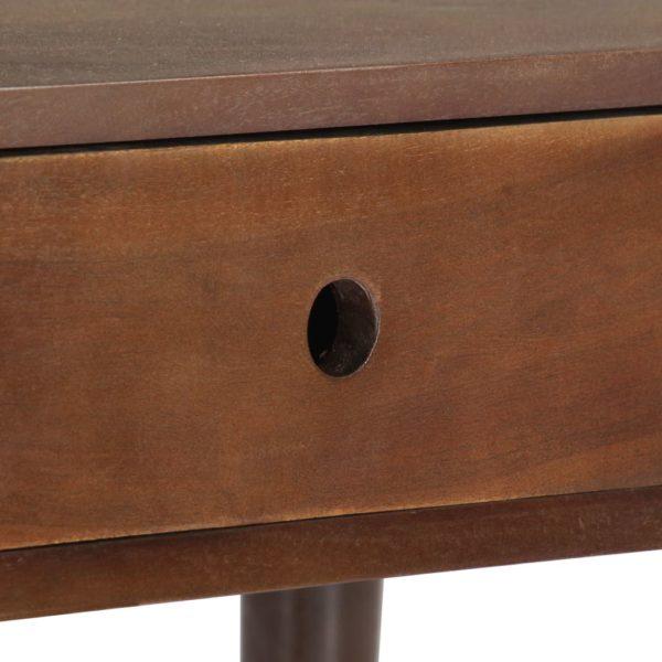 Couchtisch 100×50×46 cm Massivholz Akazie