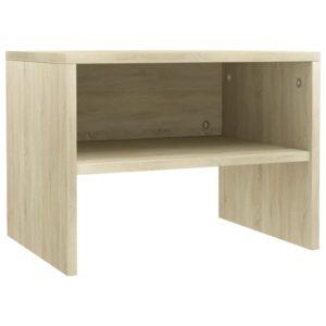 Nachttisch Sonoma-Eiche 40 x 30 x 30 cm Spanplatte