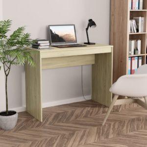 Schreibtisch Sonoma-Eiche 90×40×72 cm Spanplatte