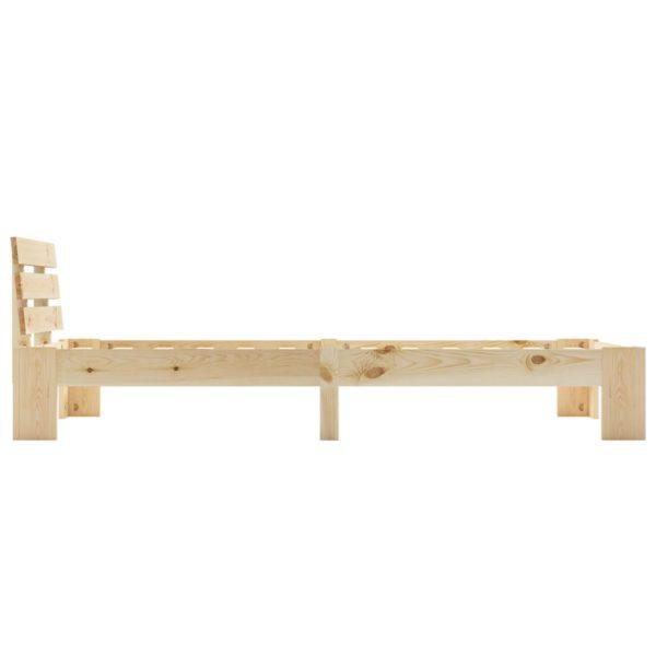 Bettgestell Massivholz Kiefer 90×200 cm