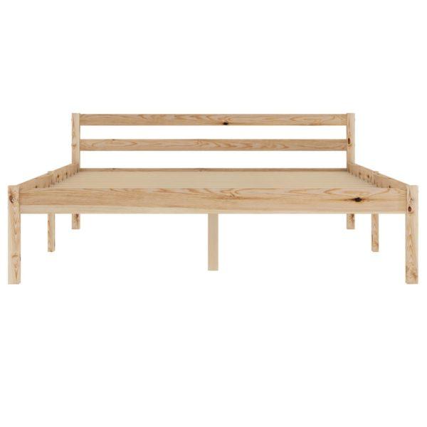 Bettgestell Massivholz Kiefer 120×200 cm