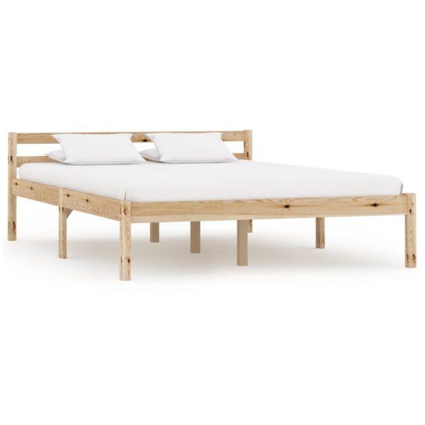 Bettgestell Massivholz Kiefer 140×200 cm