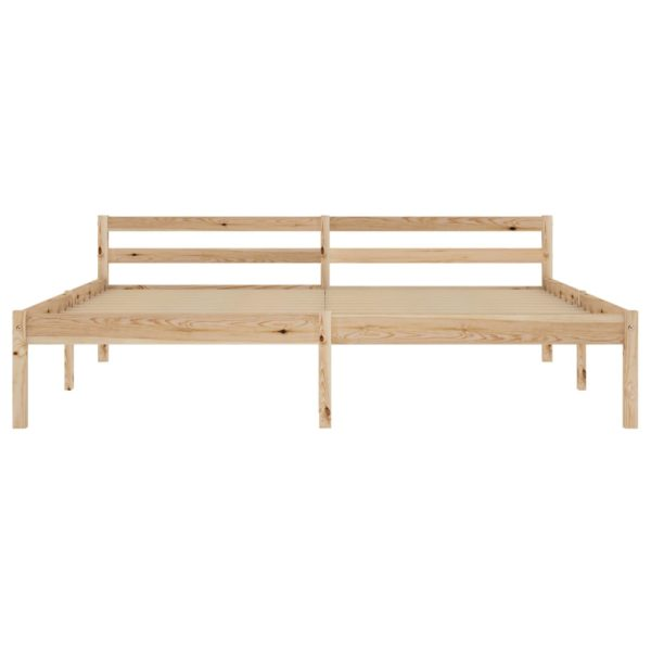 Bettgestell Massivholz Kiefer 180×200 cm