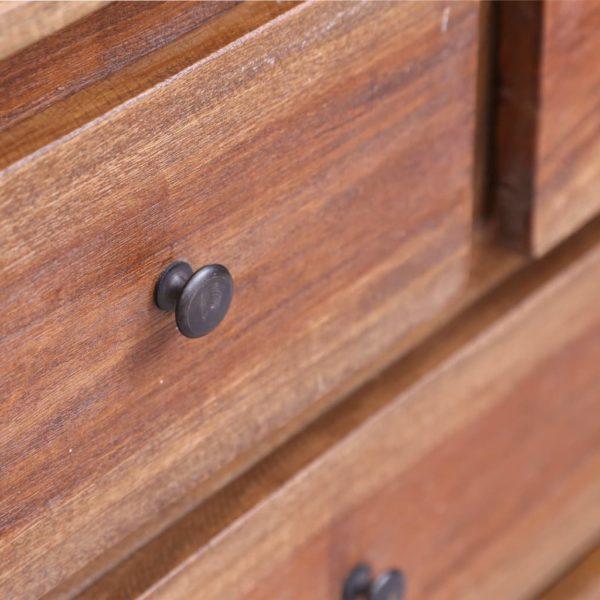Sideboard 160×45×72 cm Recyceltes Massivholz