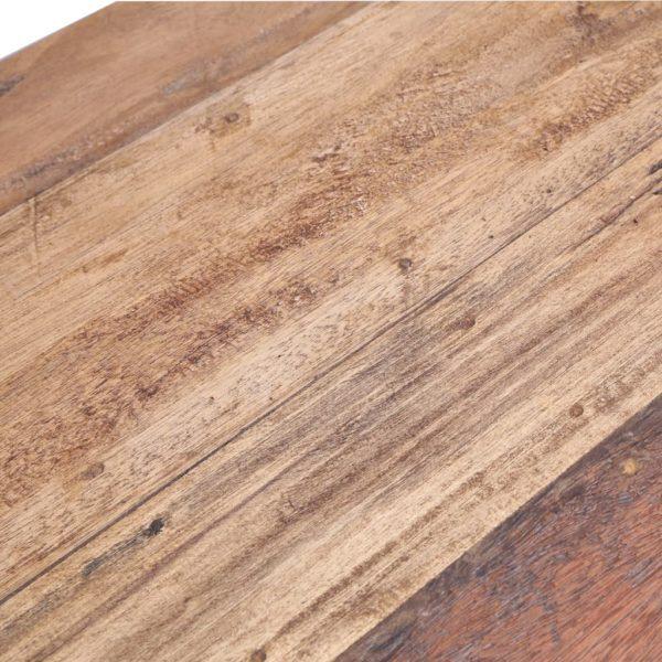Esstisch 120 x 60 x 80 cm Recyceltes Massivholz