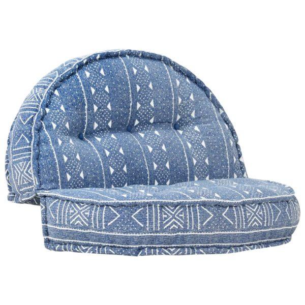 Sofa 100×20 cm Stoff Indigo