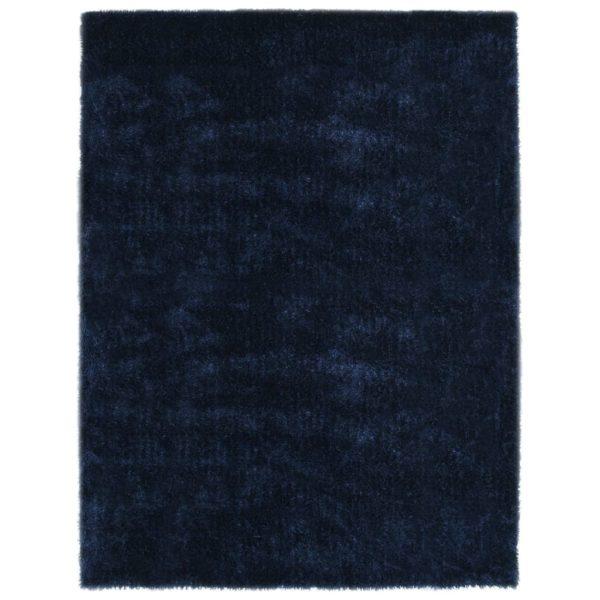 Hochflor-Teppich 80×150 cm Blau