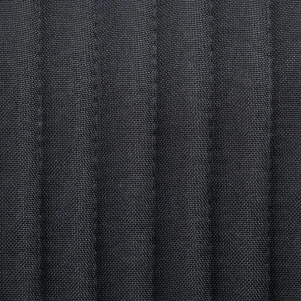 Esszimmerstühle 6 Stk. Schwarz Stoff