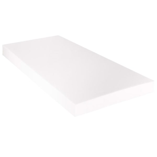 Bett mit Matratze Taupe Stoff 160 x 200 cm