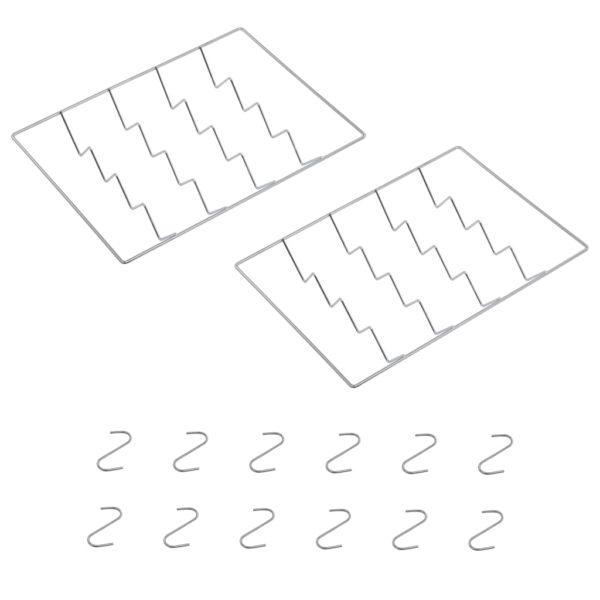 Räucherofen mit 1 kg Hackschnitzel 44,5 x 29 x 83 cm