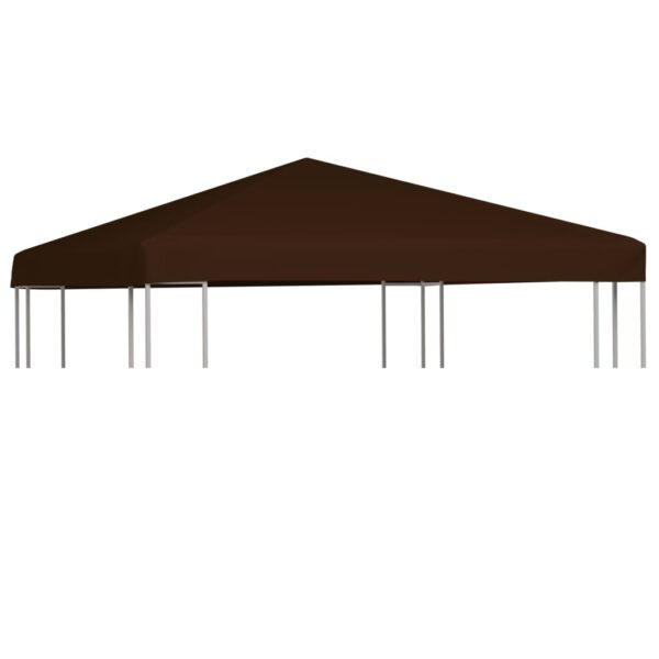 Pavillondach 310 g / m² 3×3 m Braun