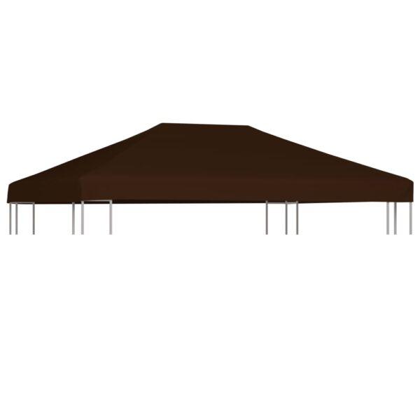 Pavillondach 310 g / m² 3×4 m Braun